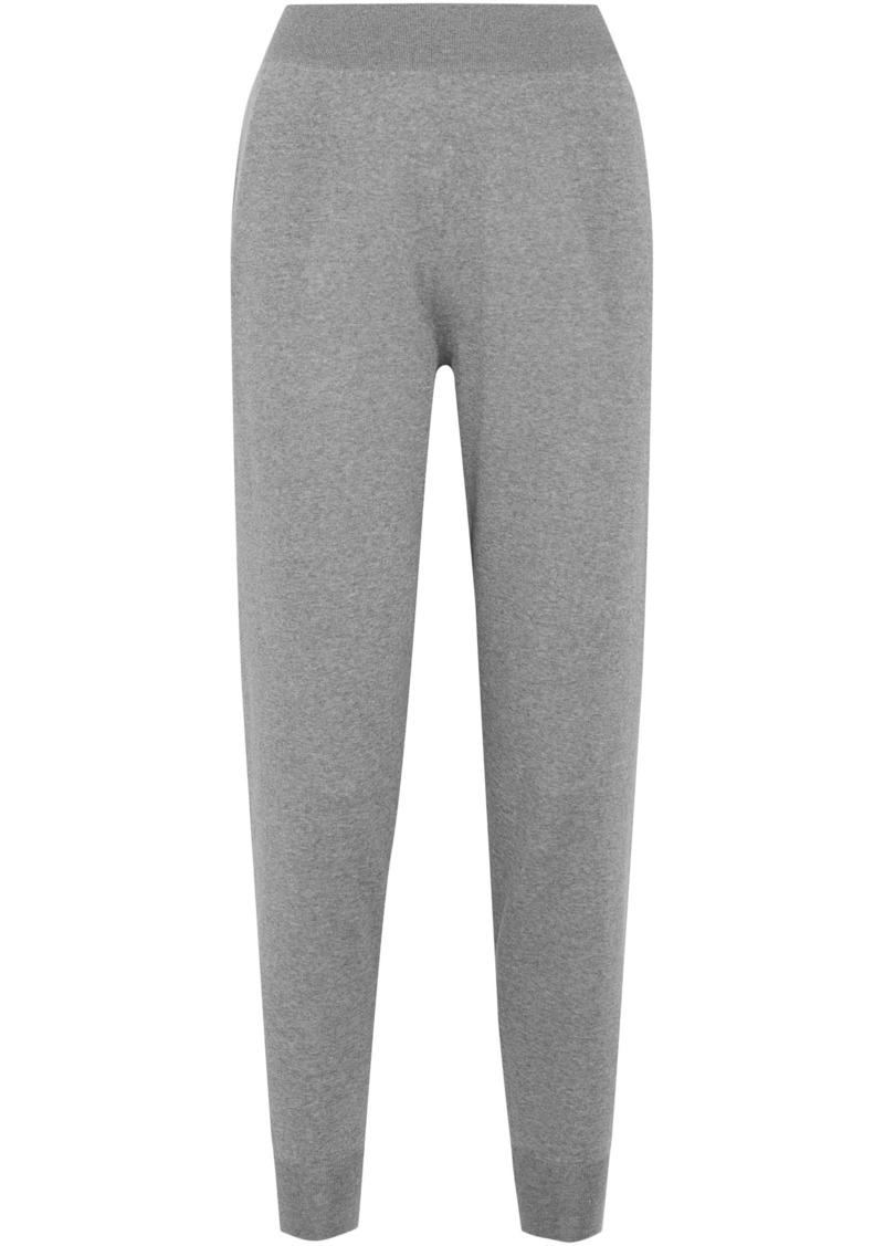 Stella Mccartney Woman Wool Track Pants Gray