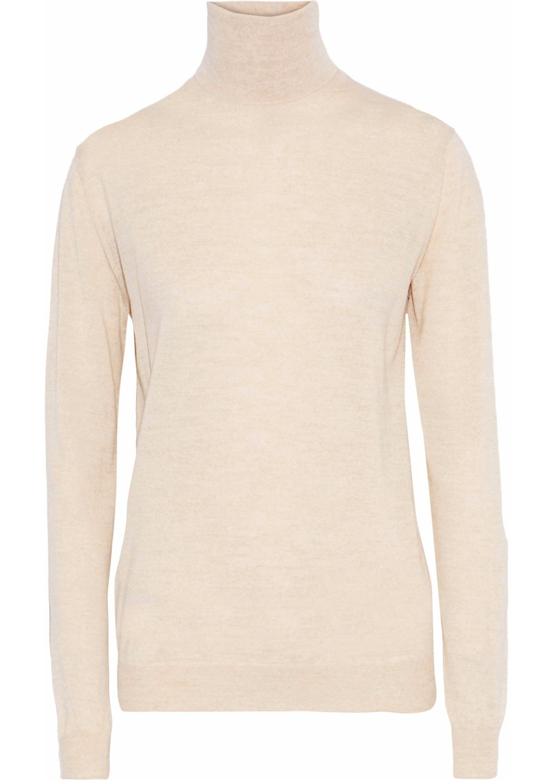 Stella Mccartney Woman Wool Turtleneck Sweater Sand