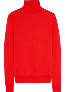 Stella Mccartney Woman Wool Turtleneck Sweater Tomato Red
