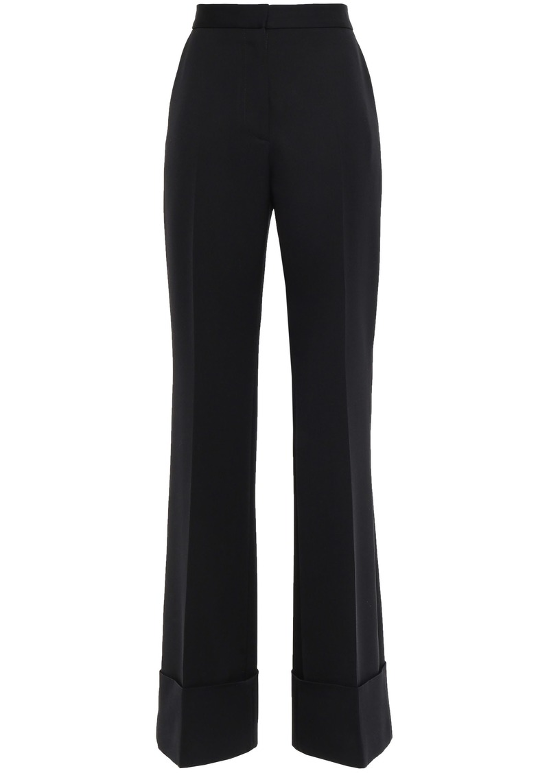 Stella Mccartney Woman Wool-twill Flared Pants Black