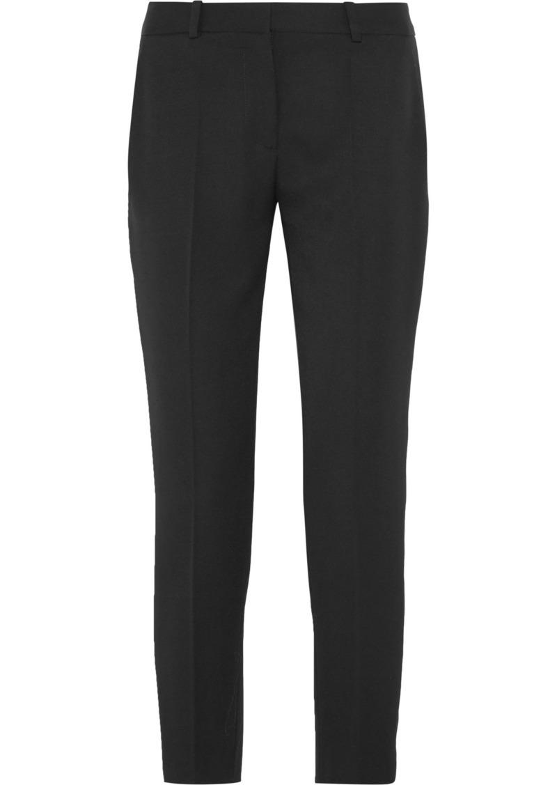 Stella Mccartney Woman Wool-twill Slim-leg Pants Black