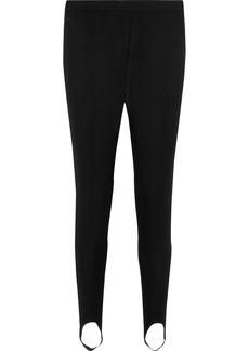 Stella Mccartney Woman Wool-twill Slim-leg Stirrup Pants Black