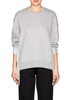 """Stella McCartney Women's """"All Is Love"""" Cotton-Blend Neoprene Sweatshirt"""
