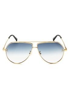 Stella McCartney Women's Aviator Sunglasses, 60mm