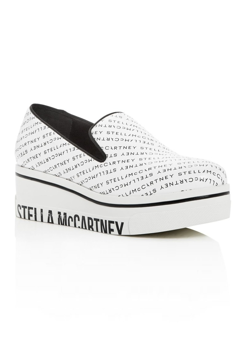 Stella McCartney Women's Binx Slip-On Platform Wedge Sneakers