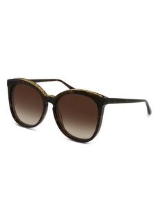 Stella McCartney Women's Chain-Trim Cat Eye Sunglasses, 59mm