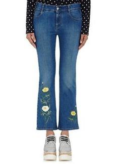 Stella McCartney Women's Embellished Flared Jeans