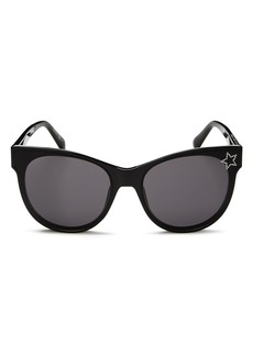 Stella McCartney Women's Embellished Star Cat Eye Sunglasses, 61mm
