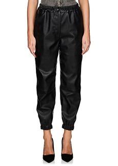 Stella McCartney Women's Faux-Leather Jogger Pants
