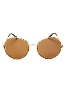 Stella McCartney Women's Mirrored Round Sunglasses, 62mm