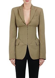 Stella McCartney Women's Piqué Corset Jacket