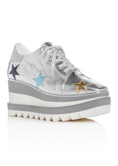 Stella McCartney Women's Star Platform Wedge Sneakers