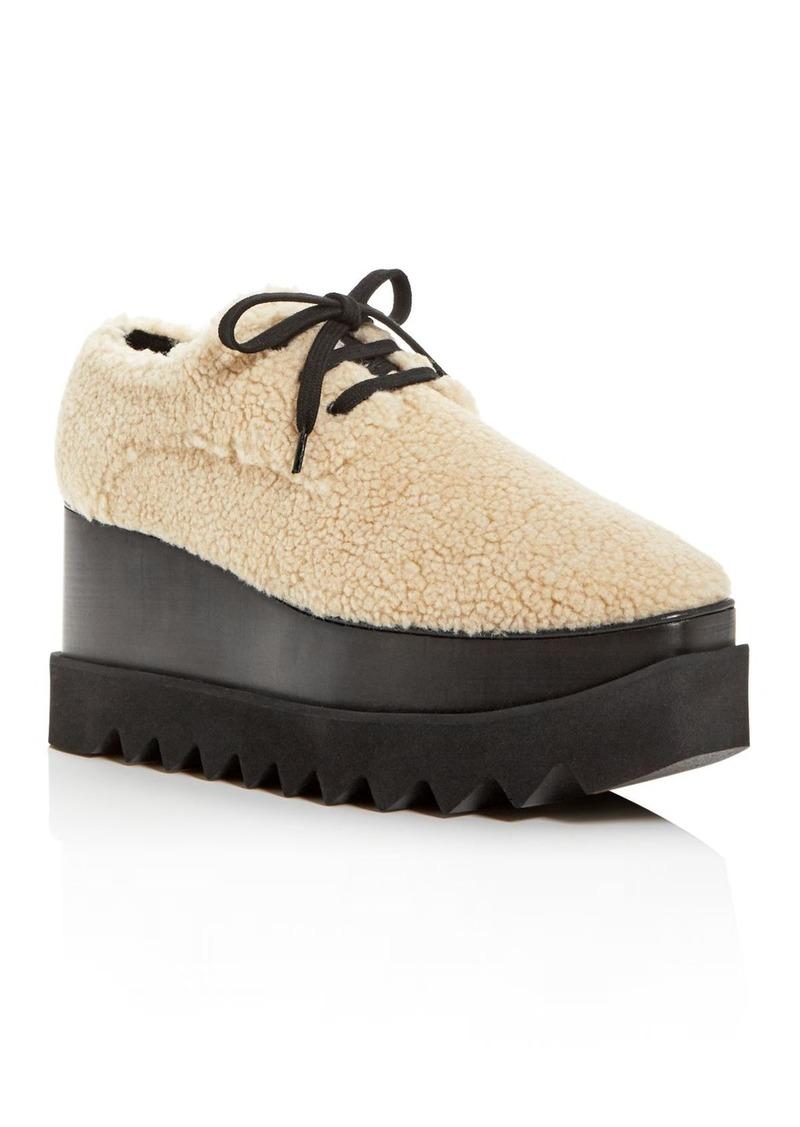 Stella McCartney Women's Scarpa Tess Platform Wedge Loafers