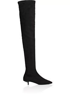 Stella McCartney Women's Sculpted-Heel Faux-Suede Over-The-Knee Boots