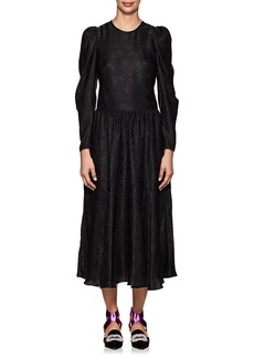 Stella McCartney Women's Silk Jacquard Midi-Dress