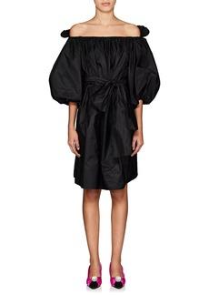 Stella McCartney Women's Taffeta Off-The-Shoulder Minidress