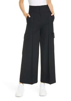 Stella McCartney Wool Cargo Pants