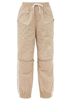 Stella McCartney X Adidas June side-stripe shell track pants