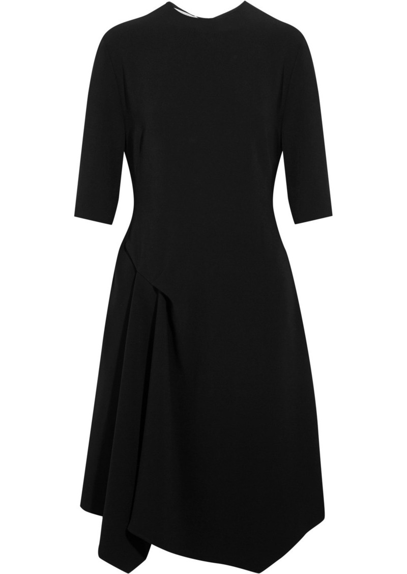 Stella McCartney Stella McCartney Xandria asymmetric cady dress ... 39aec11ef