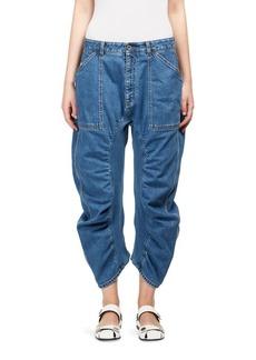 Stella McCartney Xenia Cropped Denim Pants