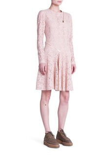 Stella McCartney Zip-Detail Lace Dress