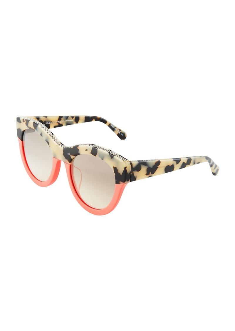 a9fc0a2c67 Stella McCartney Stella Plastic Square Sunglasses