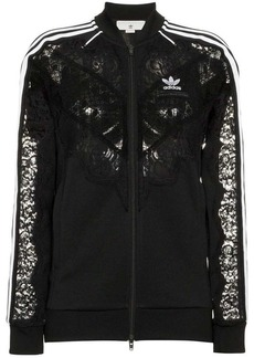 Stella McCartney x adidas 3-stripe lace trimmed jacket