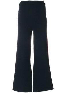 Stella McCartney stripe detail wide-leg trousers