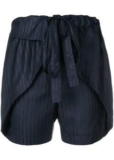 Stella McCartney striped silk shorts
