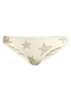 Stella McCartney Studded Star Low-Rise Bikini Bottom