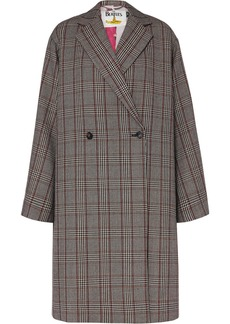 Stella McCartney The Beatles Oversized Prince Of Wales Checked Wool Coat