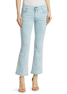 Stella McCartney The Skinny Light Wash Flare Jeans