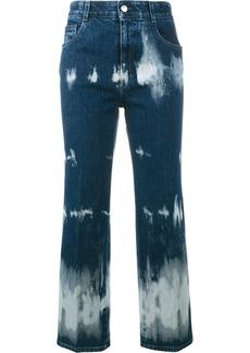 Stella McCartney tie-dye cropped jeans