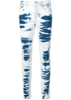 Stella McCartney tie-dye skinny jeans