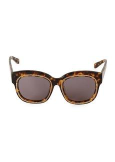 Stella McCartney Tortoiseshell Square Sunglasses