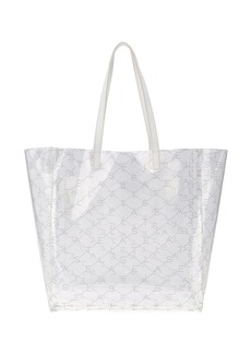 Stella McCartney transparent medium tote bag