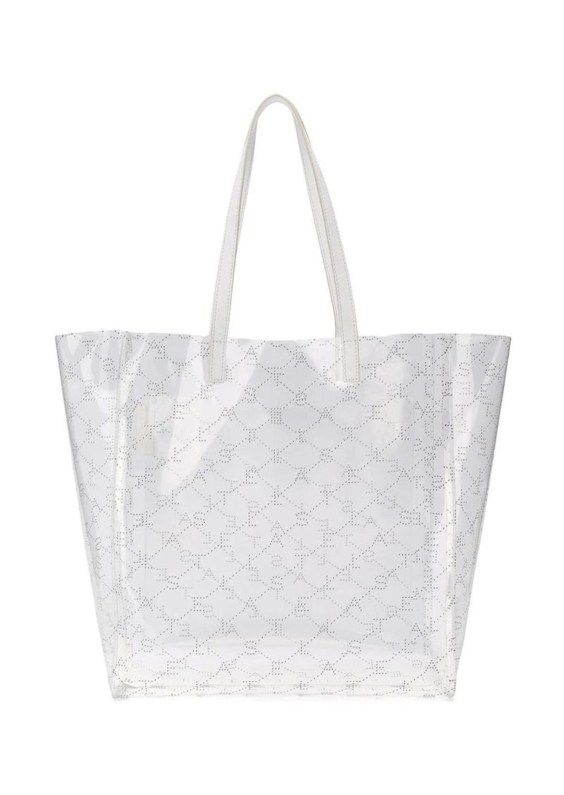 Stella McCartney transparent medium tote bag