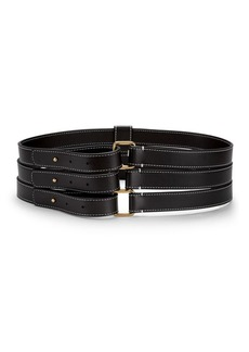Stella McCartney Triple Buckle Belt