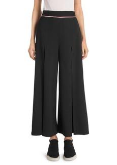 Stella McCartney Tuxedo Stripe Wide Leg Culottes