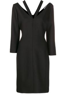 Stella McCartney V-neck long-sleeved dress