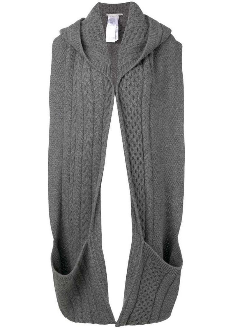 Stella McCartney wearable knit scarf