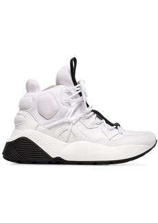 Stella McCartney white Eclypse 45 high top chunky sneakers