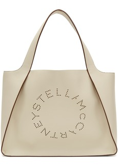 Stella McCartney White Logo Tote