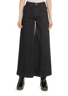 Stella McCartney Wide-Leg High-Rise Jeans