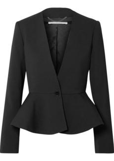 Stella McCartney Wool-blend Peplum Blazer