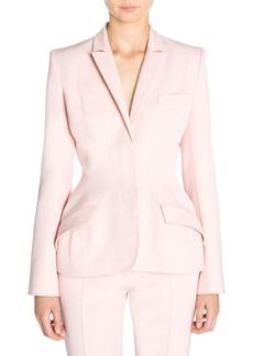 Stella McCartney Wool Twill Nipped Blazer