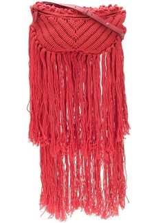 Stella McCartney woven fringe bag