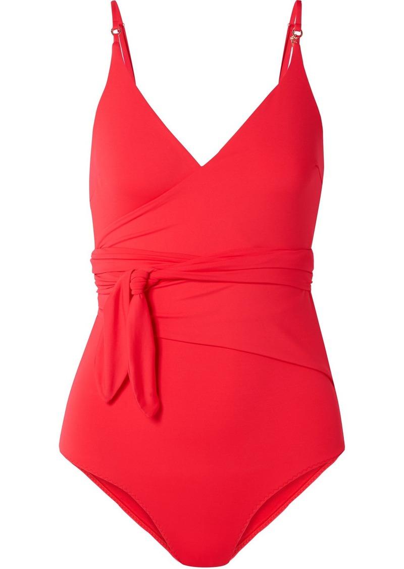 Stella McCartney Wrap-effect Swimsuit