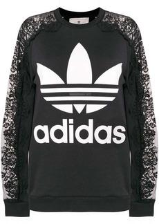 Stella McCartney x Adidas lace sweatshirt