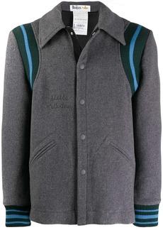 Stella McCartney Yellow Submarine embroidered varsity-style jacket